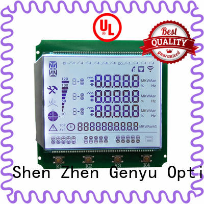 Genyu Top 7-segment lcd module factory for meters