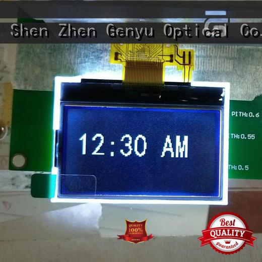 Genyu monochromatic micro lcd company for equipment