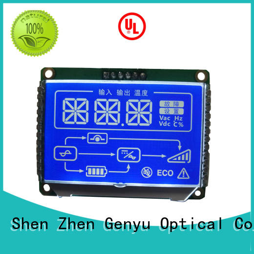 Genyu New custom size lcd for business for meter