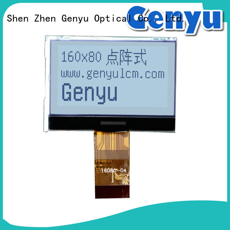 Genyu 128x128 lcd display gy12864455 for industry