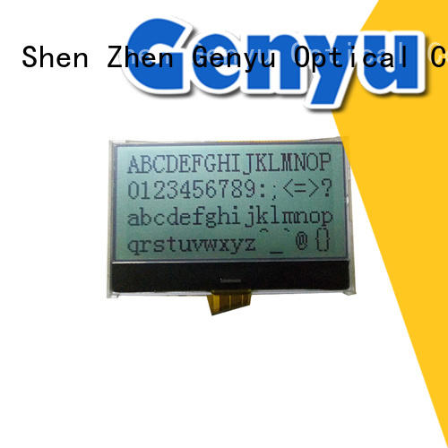 Genyu 13 graphic lcd screen factory for equipment
