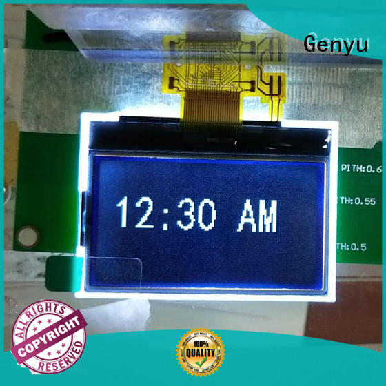 Genyu Latest graphic lcd display factory for smart home