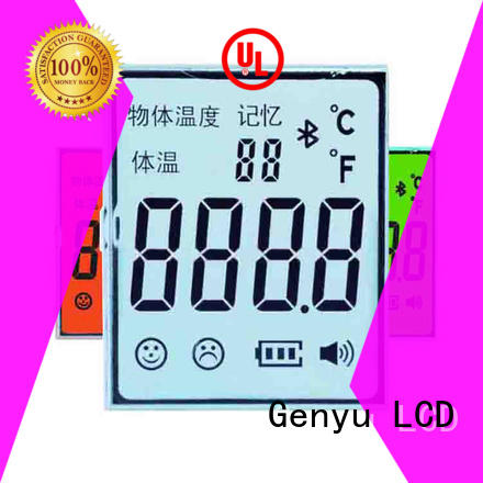Genyu Top segment lcd display factory for laser