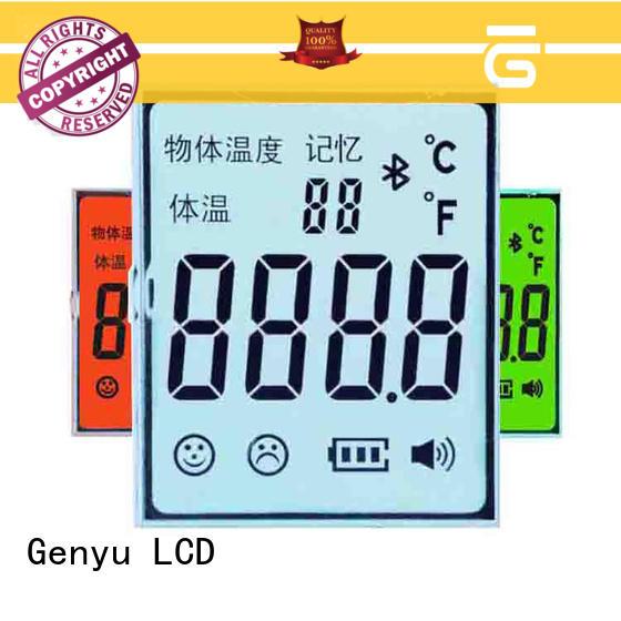 Genyu lcm segment lcd display suppliers for instrumentation