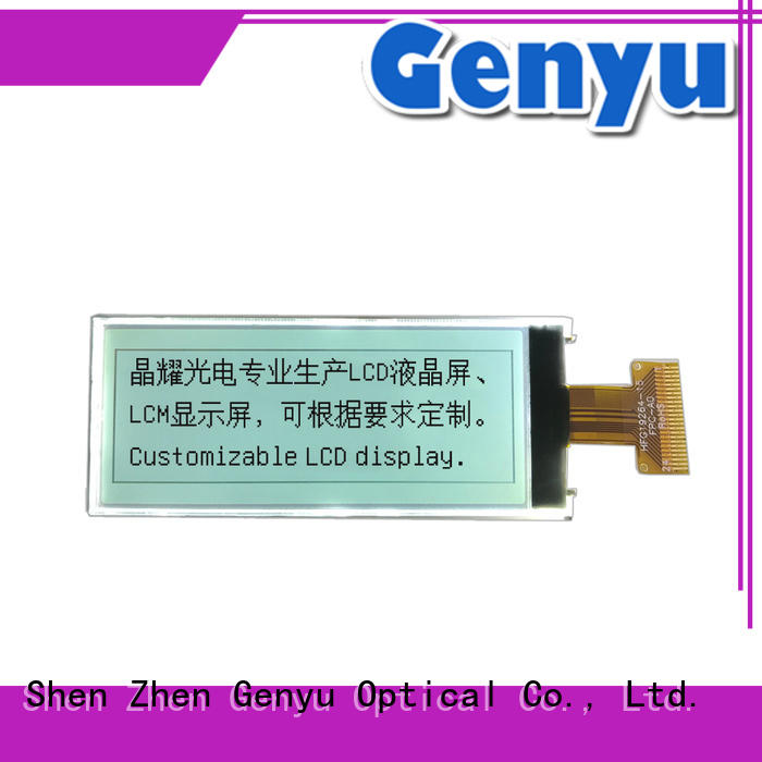 Genyu panel 12864 lcd manufacturer for industry