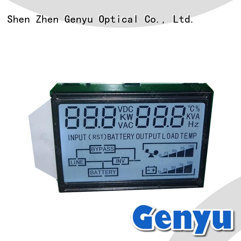 Genyu custom 7 segment display lcd custom gy160257 for home appliances