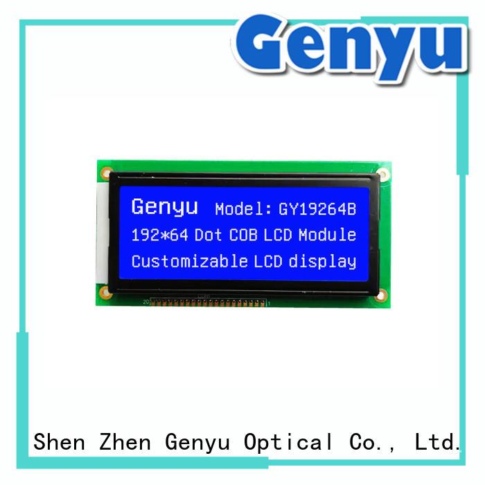 Genyu customized lcm module bulk purchase for instruments panels