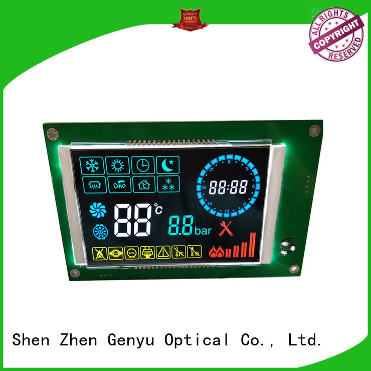 Genyu cob segment lcd display company for electricity