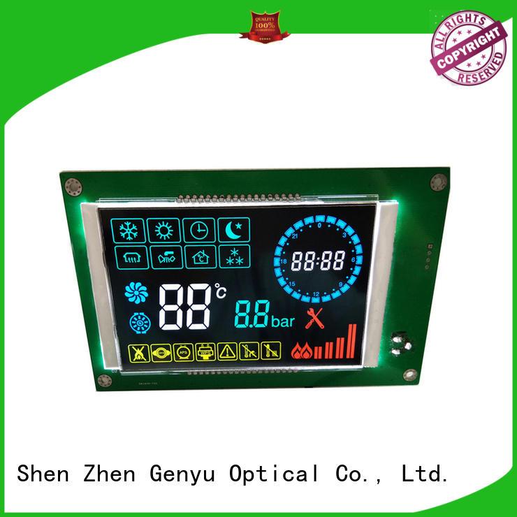 Genyu cob segment lcd display company for electricity