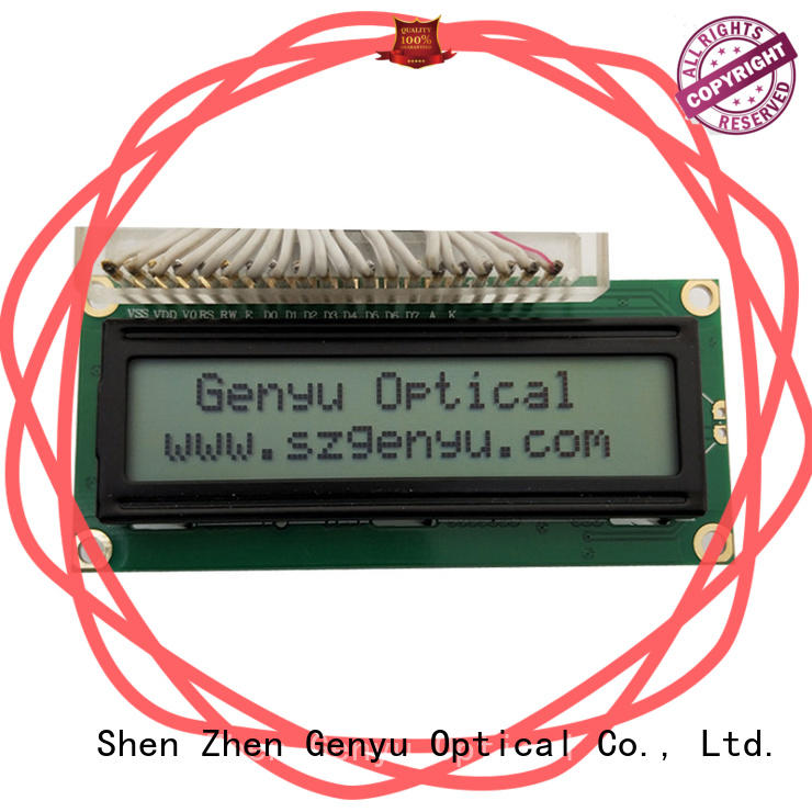 Genyu Wholesale character display modules suppliers for equipment
