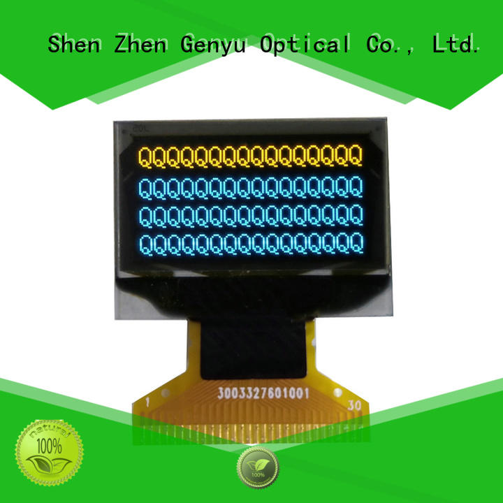 Genyu yellow oled screen display supply for instruments