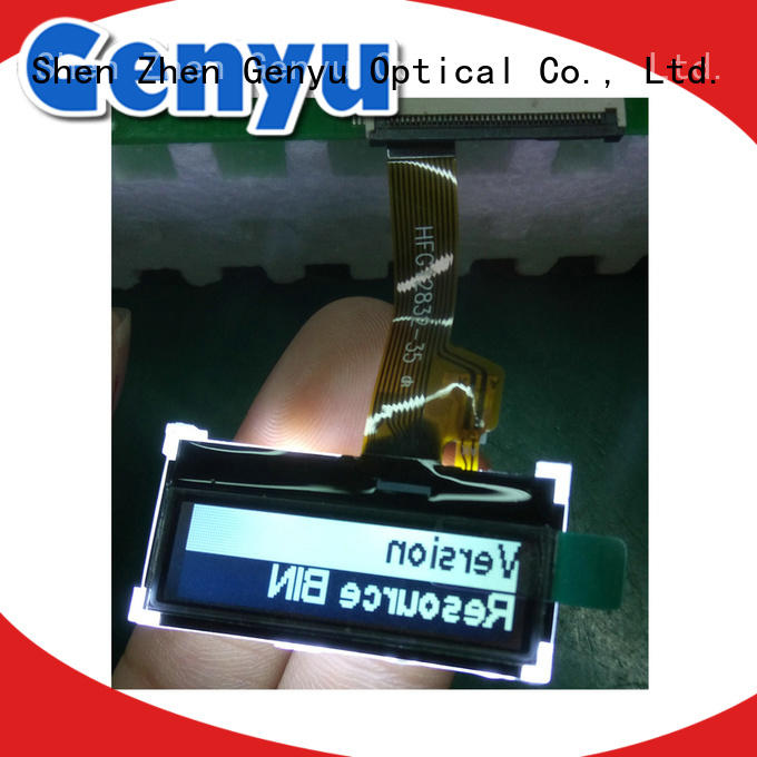 Genyu monochrome 12864 lcd display module manufacturer for industry