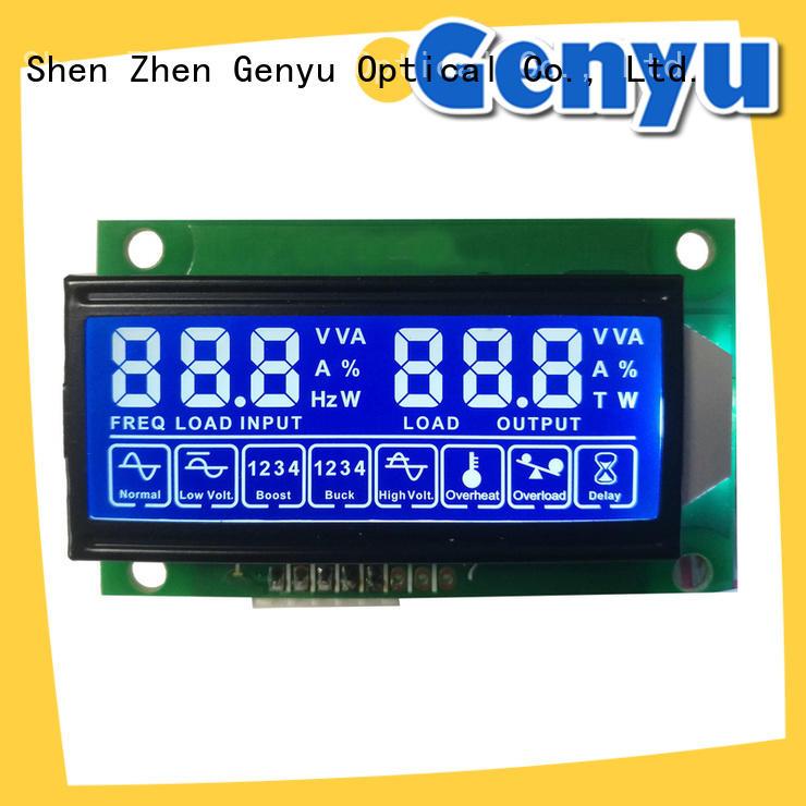 Genyu hot selling custom lcd panel renovation solutions for meter
