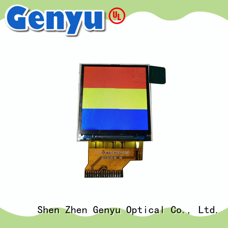 Genyu new tft lcd display module suppliers for instruments