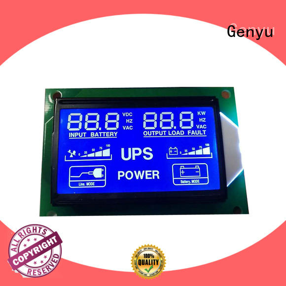 Genyu Wholesale custom lcd screen company for instrumentation