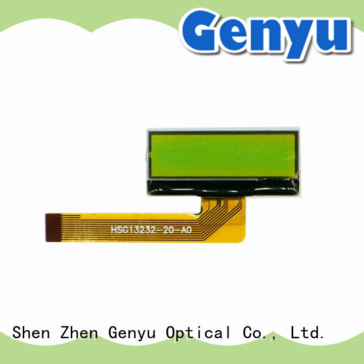 Genyu large production of graphic lcd screen factory for industry