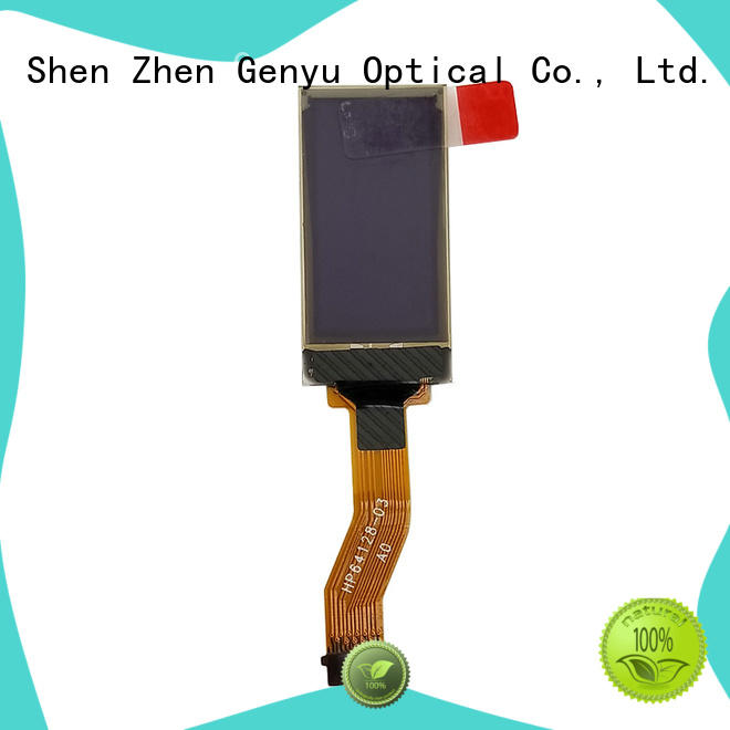 Genyu mini oled lcd panel factory for sports watch