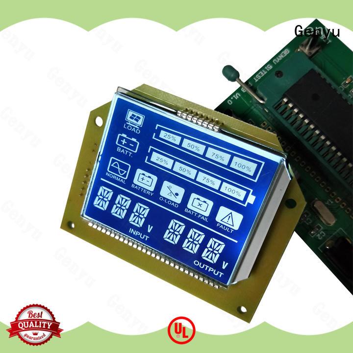 Genyu New lcd display custom for meter