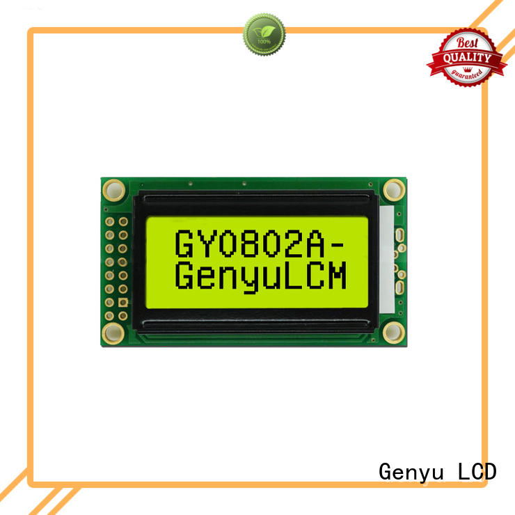 Genyu New character lcd display module for equipment