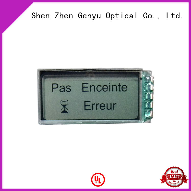 Genyu gy50378a lcd display custom company for home appliances