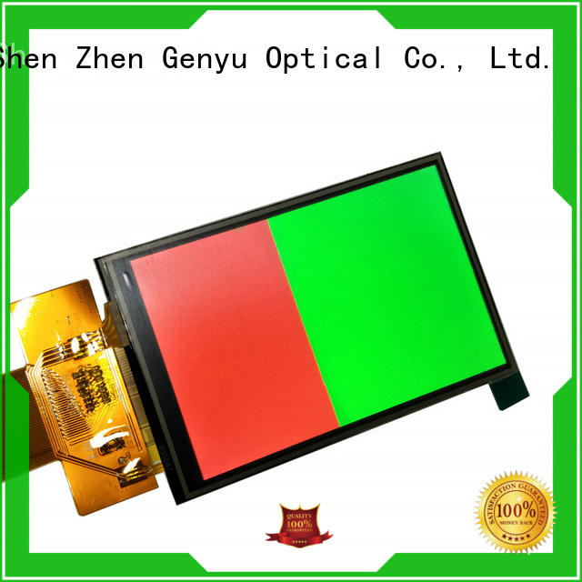 Genyu price-favorable tft lcd display module supply for automobile