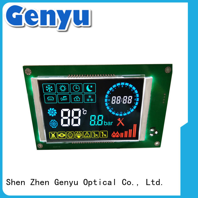 Genyu customized custom lcd manufacturer exporter for meter