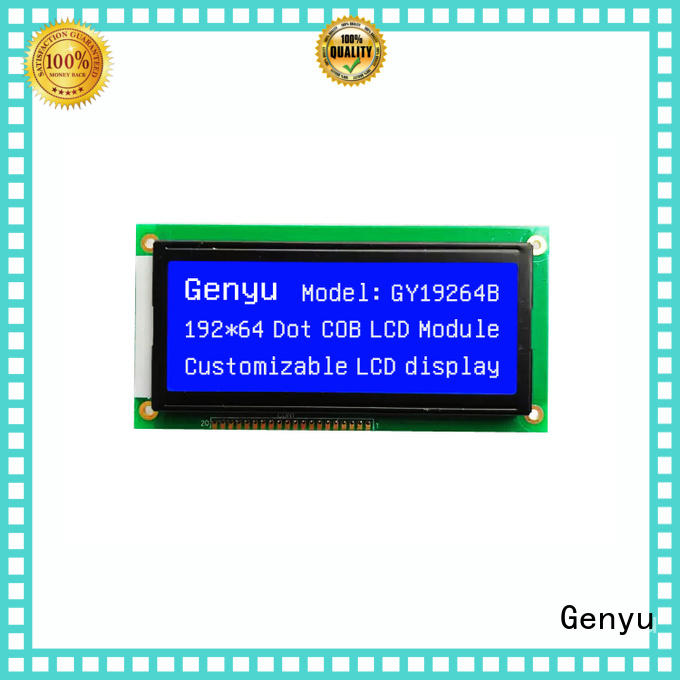 Genyu matrix lcm module manufacturers for electronic products