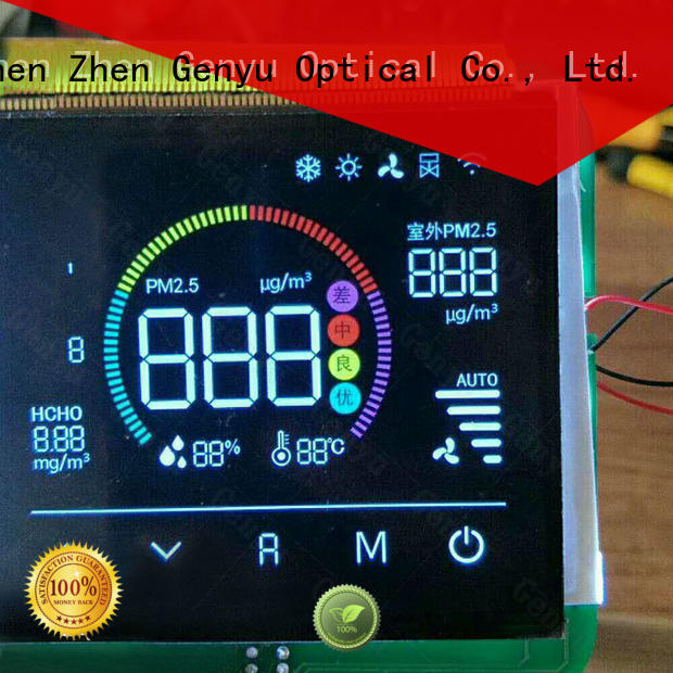 Latest lcd display custom size factory for laser