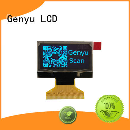 Genyu monochrome small size oled display manufacturers for smart watch