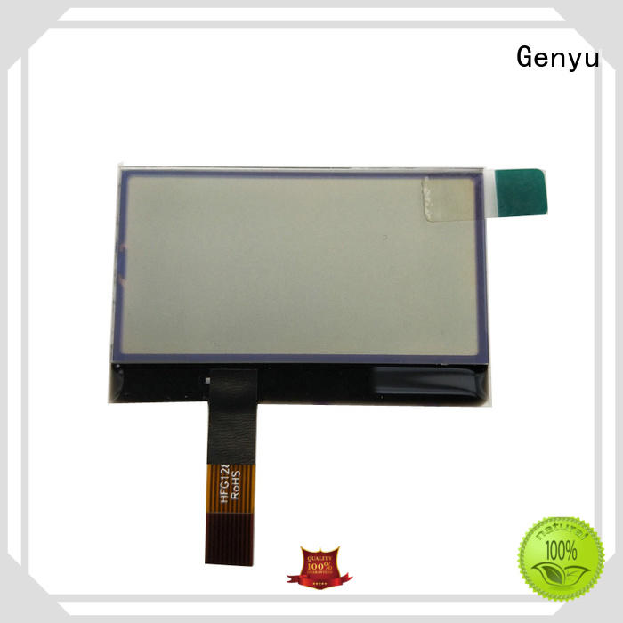 Genyu customized graphics lcd modules company for industry