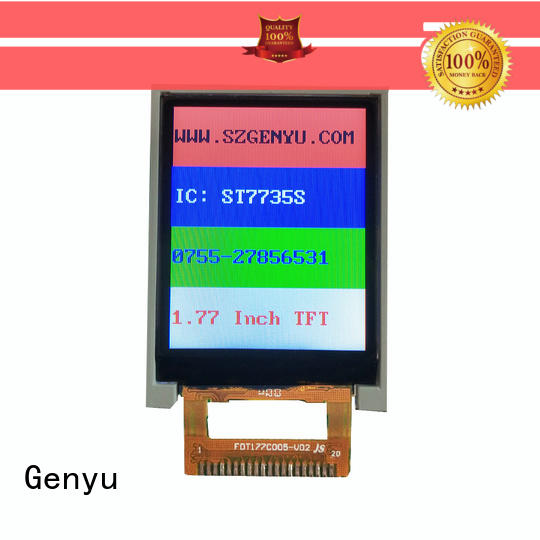 Genyu new tft lcd manufacturers for instruments