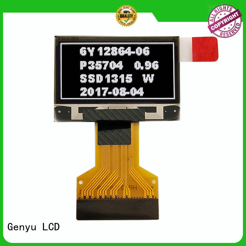 Genyu Best oled lcd module suppliers for hardware wallet