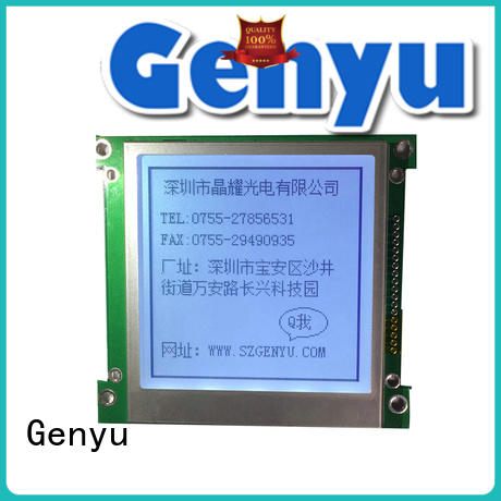 Genyu color lcm display company for medical equipment