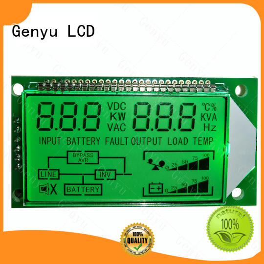 Genyu lcd custom lcd panel for home appliances