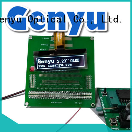 128x64 oled screen manufacturers solution expert for instruments Genyu