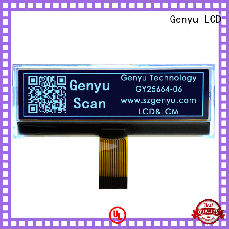 Genyu 96x24 dot matrix lcd screen company for smart home