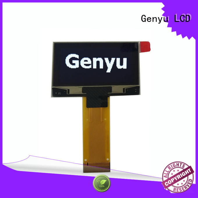 Genyu white oled lcd for hardware wallet