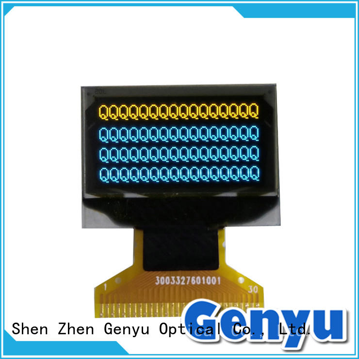 64x48 oled display panel business for instruments Genyu