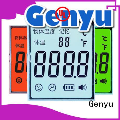 Genyu gy6303 lcd custom company for meter