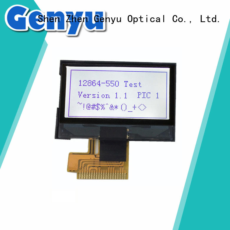 Genyu fast shipping small lcd display 16080 for smart home