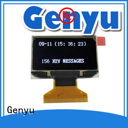 Genyu High-quality oled display modules for smart watch