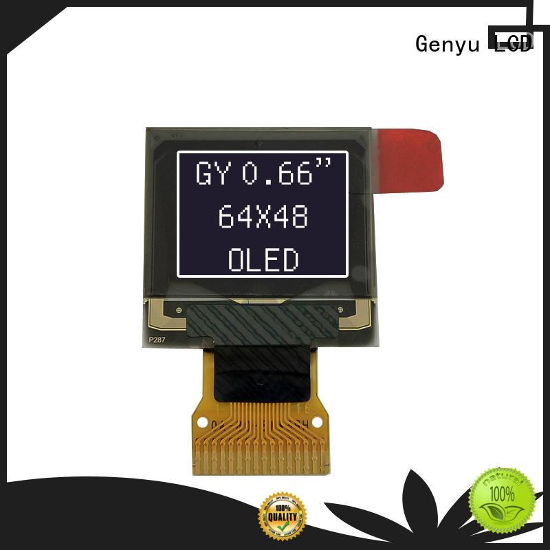 Genyu blue oled display module supply for sports watch