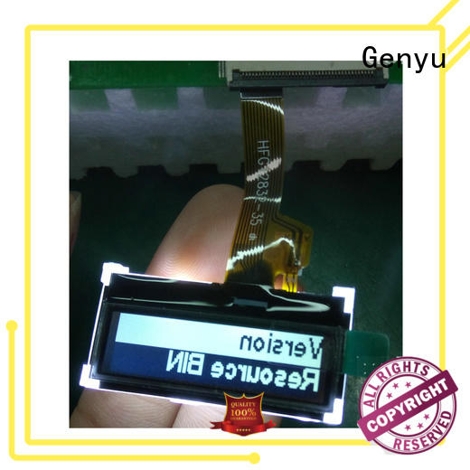 Genyu Custom dot matrix lcd display for business for equipment
