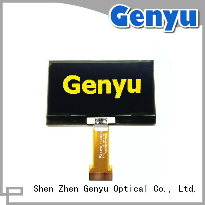 Genyu inch lcd oled display supplier for sports watch
