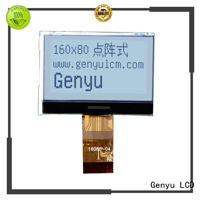Genyu cog graphic lcd 128x64 factory for industry