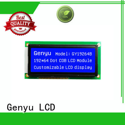 Genyu 320x128 lcm-lcd display factory for electronic products