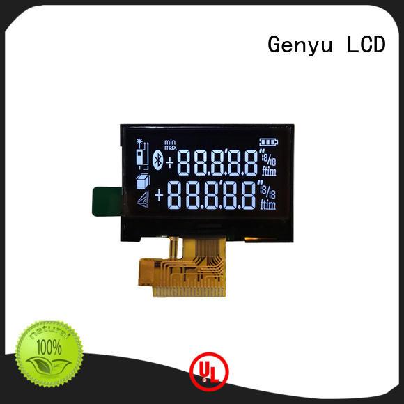Genyu screen segment lcd factory for ventilators
