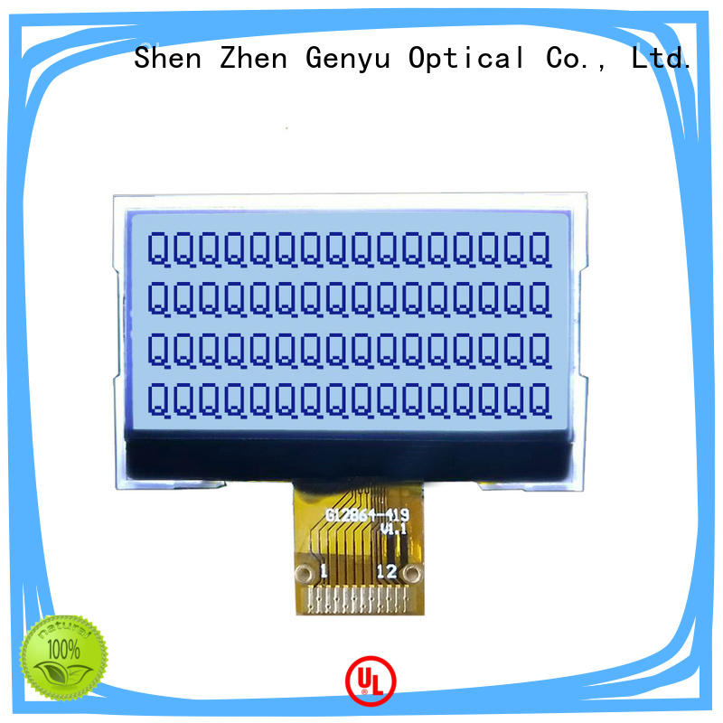 Genyu small lcd 12864 company for smart home