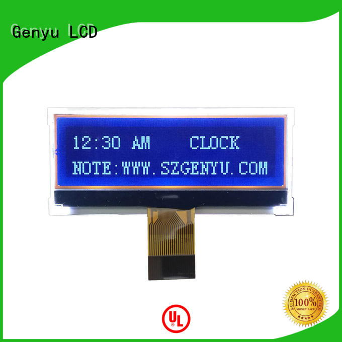 Genyu orange 12864 lcd for business for equipment