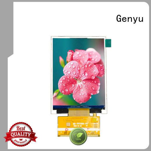 Genyu new tft lcd display factory